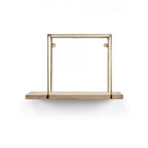 SERAX HANGREK STUDIO SIMPLE EIK/MESSING cm 45 x 17 x h30