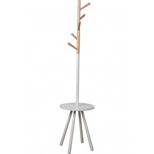 ZUIVER TABLE TREE HOUT/WIT cm dia 40 x h160