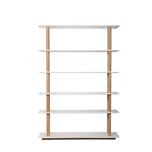ZUIVER HIGH ON WOOD BOOKSHELF cm 120 x 39 x h168,5