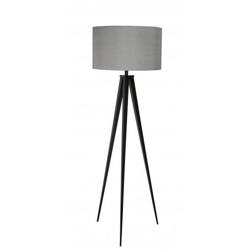 ZUIVER TRIPOD STAANDE LAMP ZWART/GRIJS cm dia50 x h157