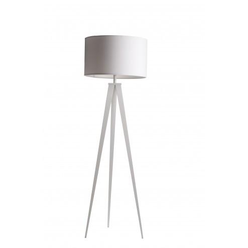 ZUIVER TRIPOD STAANDE LAMP WIT cm dia50 x h157