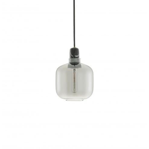 NORMANN COPENHAGEN AMP LAMP SMALL SMOKE/ZWART cm dia14 x h17