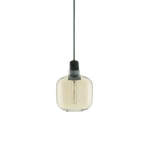 NORMANN COPENHAGEN AMP LAMP SMALL GOUD/GROEN cm dia14 x h17