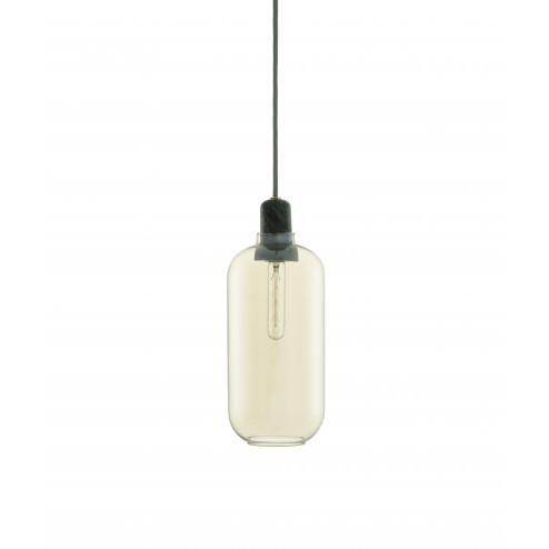 NORMANN COPENHAGEN AMP LAMP LARGE GOUD/GROEN cm dia11,2 x h26