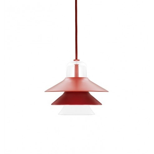 NORMANN COPENHAGEN IKONO LAMP SMALL ROOD