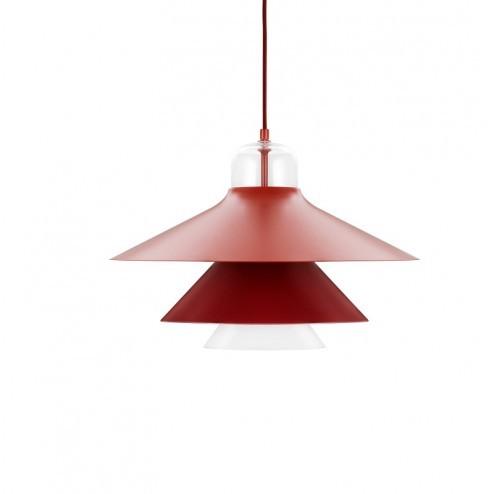 NORMANN COPENHAGEN IKONO LAMP LARGE ROOD