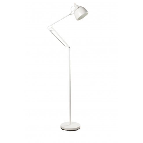 ZUIVER READER STAANDE LAMP WIT cm dia25 x h137-167