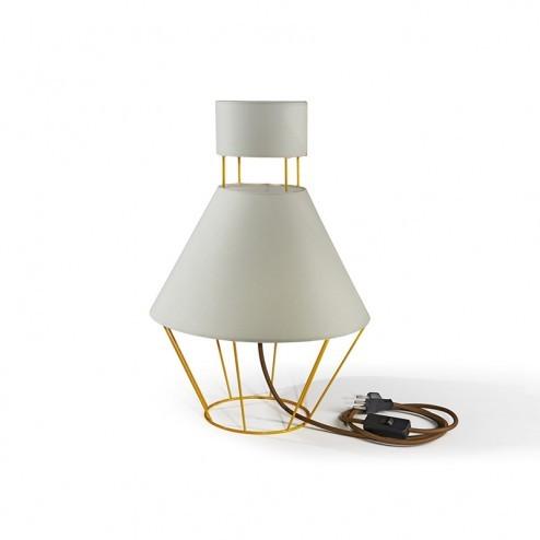 ATIPICO BALLOON LAMP GEEL/BEIGE