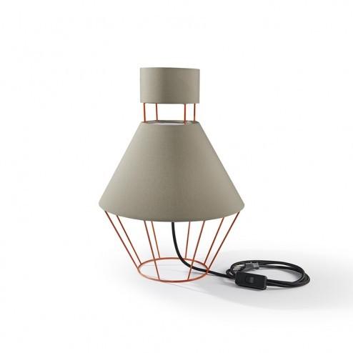 ATIPICO BALLOON LAMP ORANJE/GRIJS