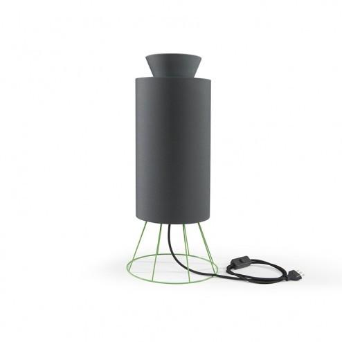 ATIPICO BALLOON LAMP GROEN/DONKERGRIJS