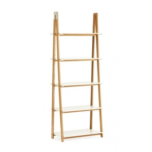 NORMANN COPENHAGEN ONE STEP UP BOOKCASE HIGH WIT