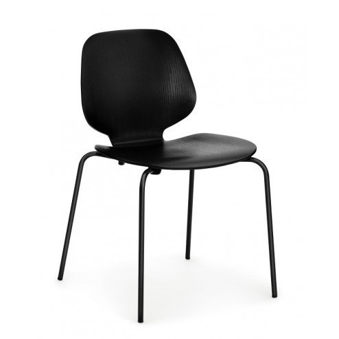 NORMANN COPENHAGEN MY CHAIR ZWART/ZWART