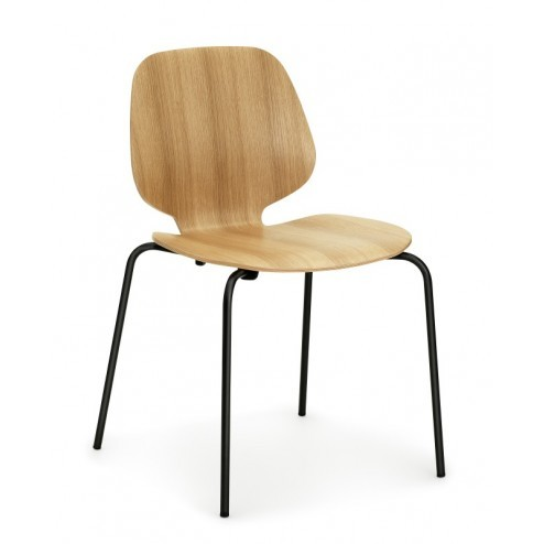 NORMANN COPENHAGEN MY CHAIR EIK/ZWART