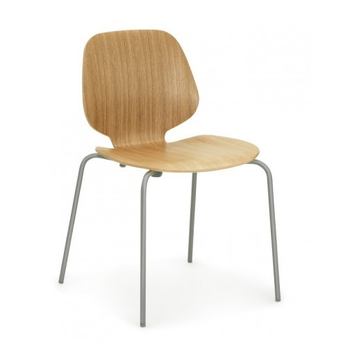 NORMANN COPENHAGEN MY CHAIR EIK/GRIJS