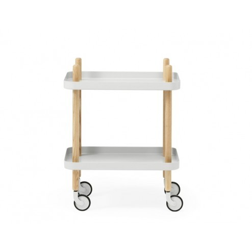 NORMANN COPENHAGEN BLOCK TABLE LICHT GRIJS