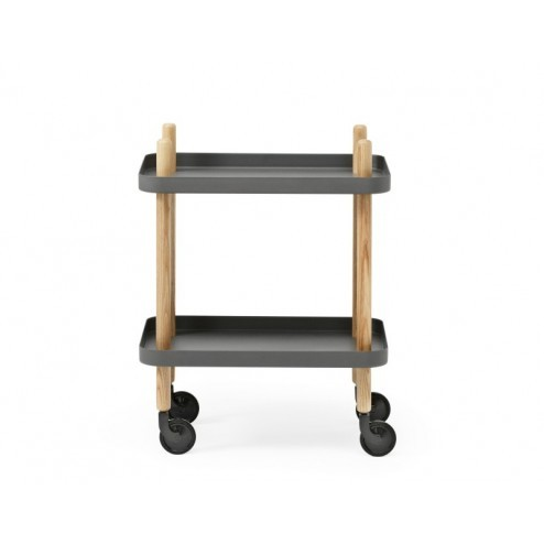 NORMANN COPENHAGEN BLOCK TABLE DONKER GRIJS