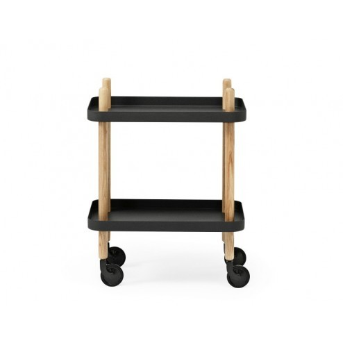 NORMANN COPENHAGEN BLOCK TABLE ZWART