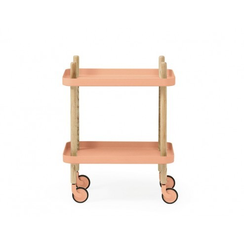 NORMANN COPENHAGEN BLOCK TABLE LICHT ROZE
