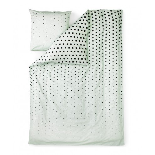 NORMANN COPENHAGEN PLUS & CUBE BED LINNEN GROEN