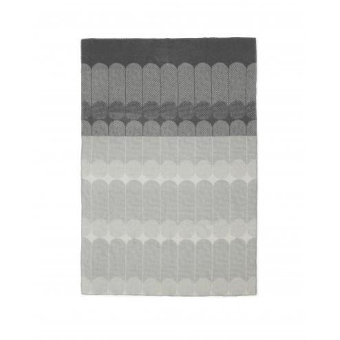 NORMANN COPENHAGEN EKKO PLAID SMOKE/GRIJS cm 130 x 180