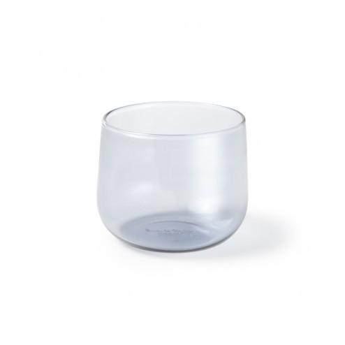 ATIPICO CRUDO GLAS SET VAN 4 GRIJS KLEIN cm dia9/8 x h7