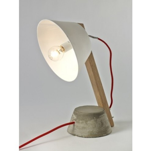 SERAX BETONNEN VOET SMALL LAMP WIT