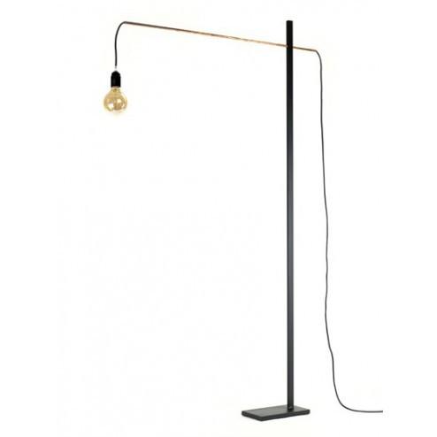 SERAX FLAMINGO LAMP MEDIUM ZWART/KOPER cm 90 x 13 x h162