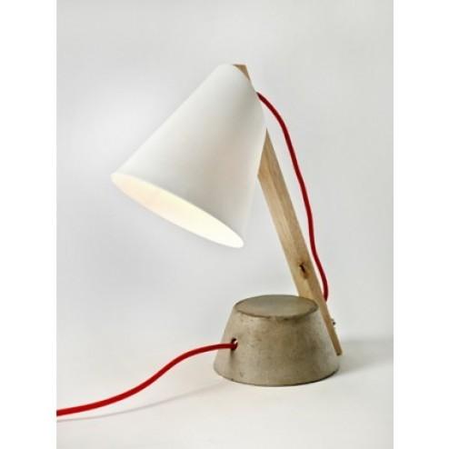 SERAX BETONNEN VOET LARGE LAMP WIT cm 25 x 25 x h33,5