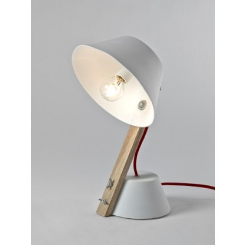SERAX PORSELEINEN VOET SMALL LAMP WIT cm 20 x 19 x h33