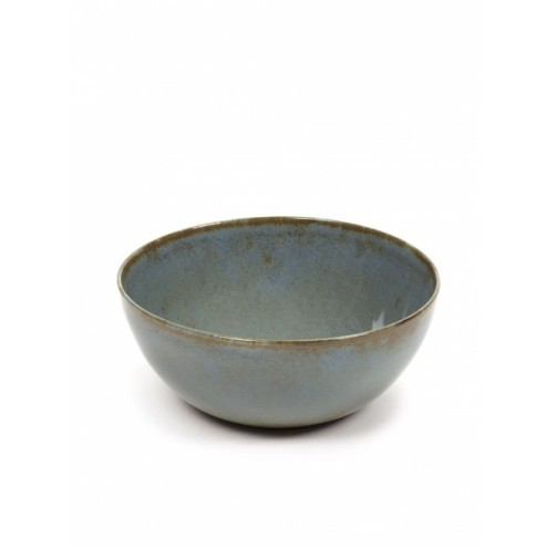 SERAX BOWL M SMOKEY BLUE dia13,7 x h 6