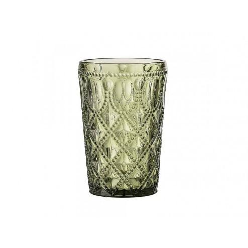 BLOOMINGVILLE ARUBA GLAS GROEN cm dia 8,5 x h 13