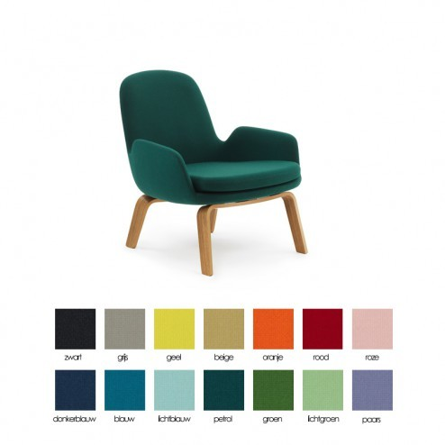 NORMANN COPENHAGEN ERA LOUNGE LOW eik cm 75 x 72 x h77