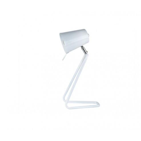 """LEITMOTIV  LAMP """"Z"""" wit cm 16 x h35"""