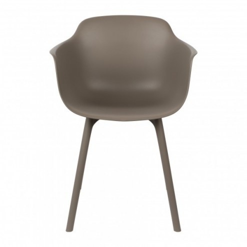 ZUIVER BV ARMCHAIR MAE TAUPE
