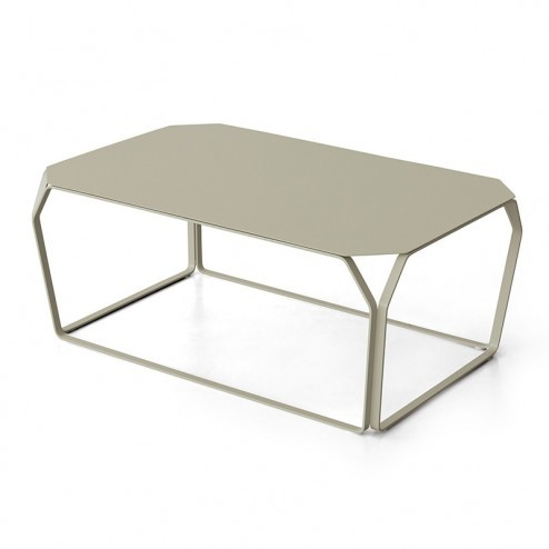 MEMEDESIGN TRAY 3 METALLO TAFEL cm 97 x 63 x h38