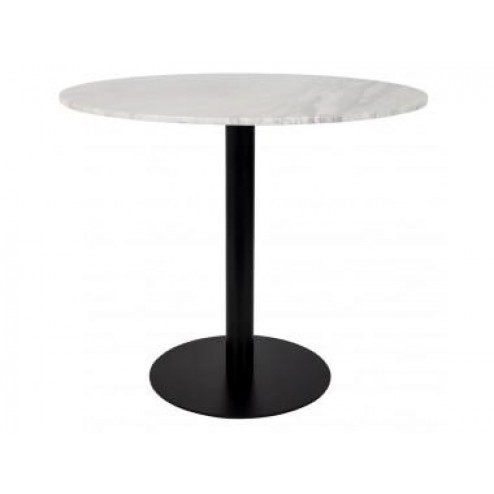 ZUIVER BV SIDE TABLE SNOW MARBLE OVAL