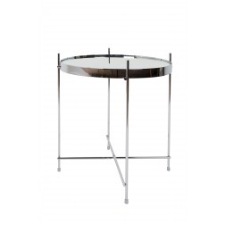 ZUIVER CUPID TAFEL SMALL CHROOM cm dia43 x h45