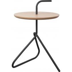 ZUIVER HANDLE TABLE BAMBOE/ZWART cm dia38,5 x h57