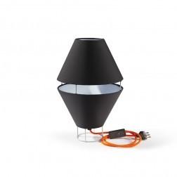 ATIPICO BALLOON LAMP LICHTGRIJS/BRUIN mm dia230 x h360