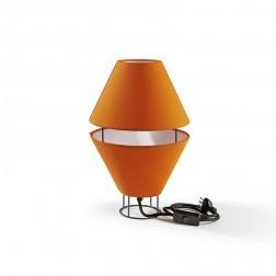 ATIPICO BALLOON LAMP GRIJS/ORANJE mm dia230 x h360