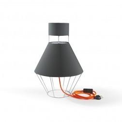 ATIPICO BALLOON LAMP LICHTGRIJS/DONKERGRIJS mm dia300 x h445
