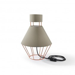 ATIPICO BALLOON LAMP ORANJE/GRIJS mm dia300 x h445