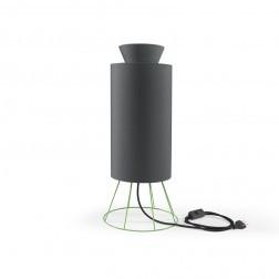 ATIPICO BALLOON LAMP GROEN/DONKERGRIJS mm dia245 x h605