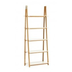 NORMANN COPENHAGEN ONE STEP UP BOOKCASE HIGH WIT cm 78 x 45 x h200