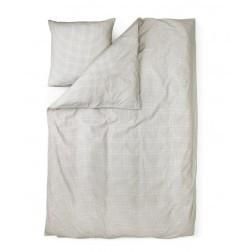 NORMANN COPENHAGEN PLUS & CUBE BED LINNEN GRIJS cm 140 x 200 + cm 63 x 60