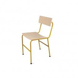 ATIPICO NOTA STOEL GEEL cm 40 x 47 x h80