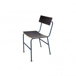 ATIPICO NOTA STOEL DONKERBLAUW cm 40 x 47 x h80
