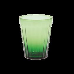 BITOSSI LUCCA WATERGLAS PER SET VAN 6 cm dia9,5 x h11,5 groen